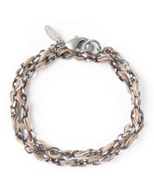 G.H. Bass & Co.   Metallic Astali ® Jute Cord With Antique Metal Chain   Lyst