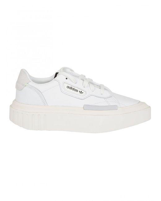 c392a0130312 Adidas Originals - White ADIDAS ORIGINALS sneaker hypersleek bianca - Lyst  ...
