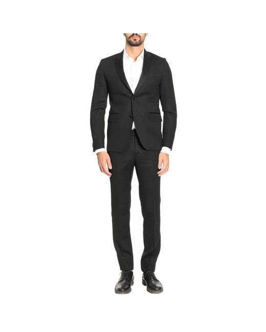 Brian Dales | Black Suit Men for Men | Lyst