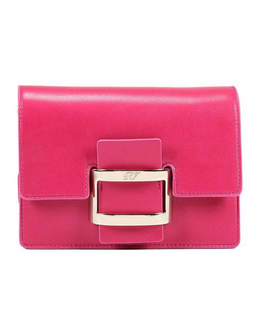 Roger Vivier - Pink Mini Bag Handbag Woman - Lyst