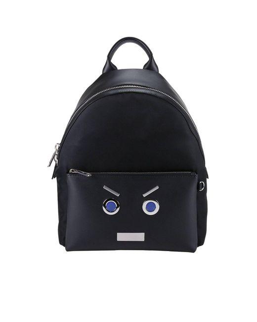 Fendi - Black Backpack Bags Men for Men - Lyst