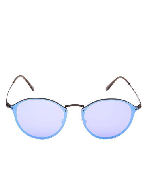 52089f7a3bb ... Ray-Ban - Black Sunglasses Women - Lyst ...