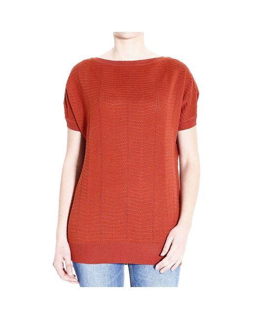 M Missoni | Red Women's Sweater | Lyst
