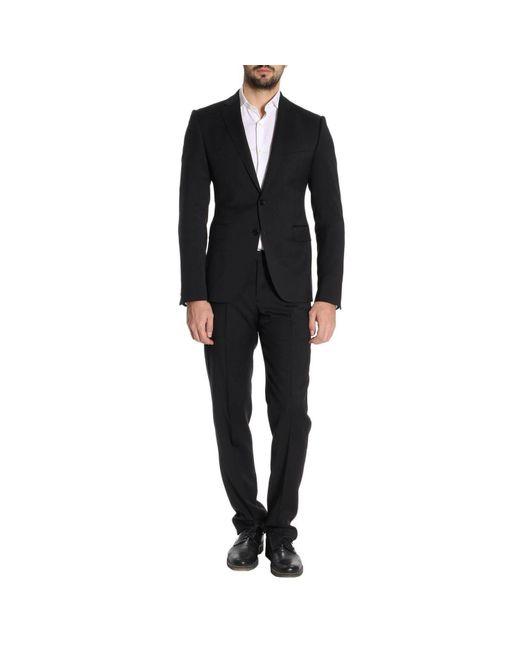 Emporio Armani - Blue Suit Men for Men - Lyst