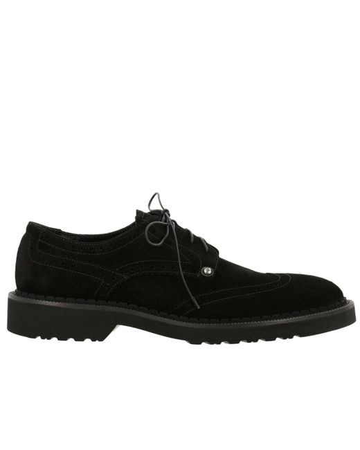 Cesare Paciotti - Black Brogue Shoes Shoes Men for Men - Lyst