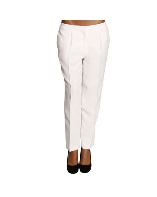 Dior | White Women's Trouser | Lyst