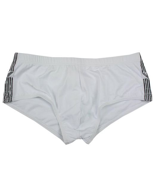 Emporio Armani | White Giorgio Armani Men's Swimwear for Men | Lyst