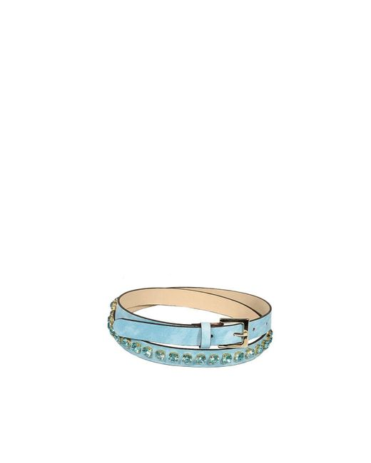 Pinko | Blue Women's Belt | Lyst