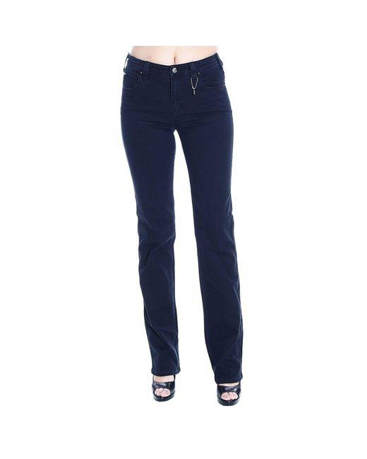 Armani Jeans | Black Jeans Denim Waist High Gamba Dritta Stretch | Lyst