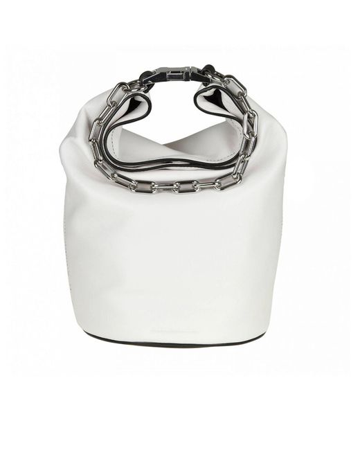 Alexander Wang - White Handbag Shoulder Bag Women - Lyst