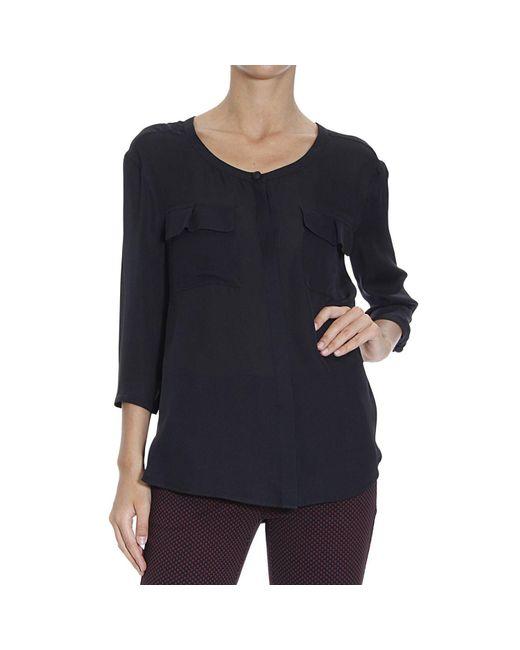 Emporio Armani | Black Giorgio Armani Women's Shirt | Lyst
