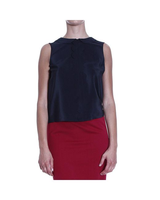 RED Valentino | Black Valentino Women's Top | Lyst