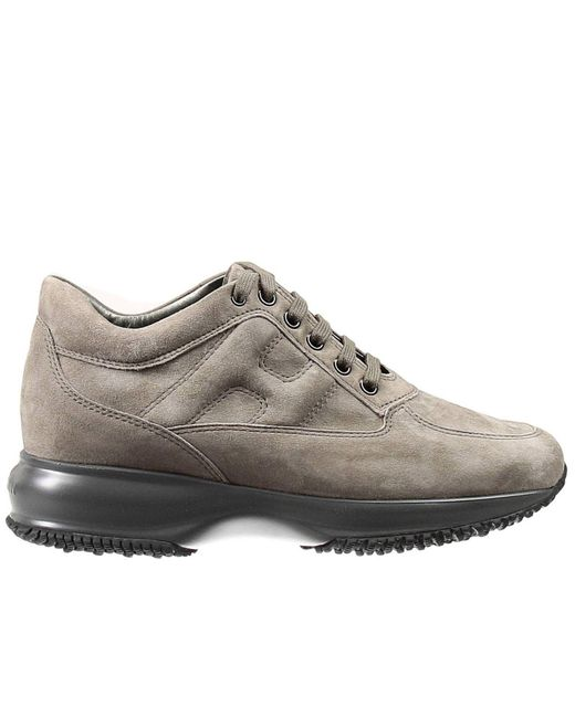 Hogan | Natural Sneakers Interactive Padded H Suede | Lyst