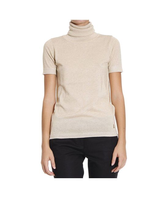Patrizia Pepe | Natural Women's Sweater | Lyst