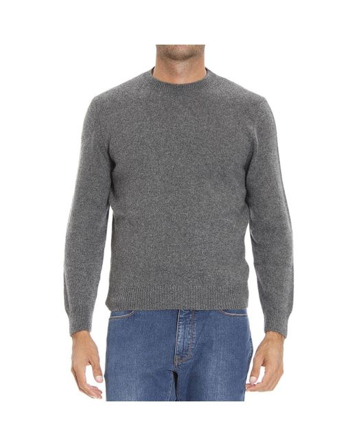 Ermenegildo Zegna | Gray Men's Sweater for Men | Lyst