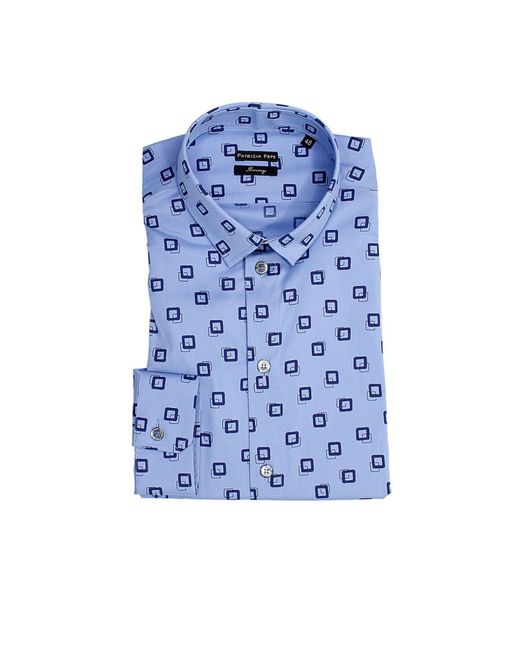 Patrizia Pepe | Blue Men's Shirt for Men | Lyst