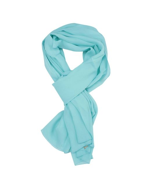 Patrizia pepe Scarf Silk in Blue (Water)
