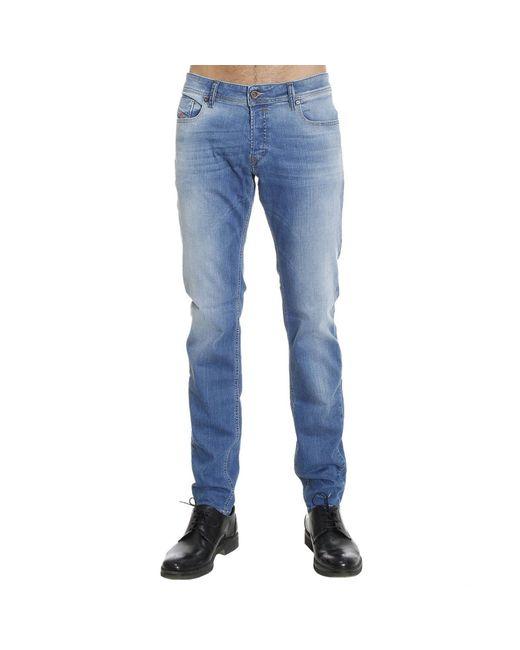DIESEL | Blue Buster Faded Straight-leg Jeans for Men | Lyst