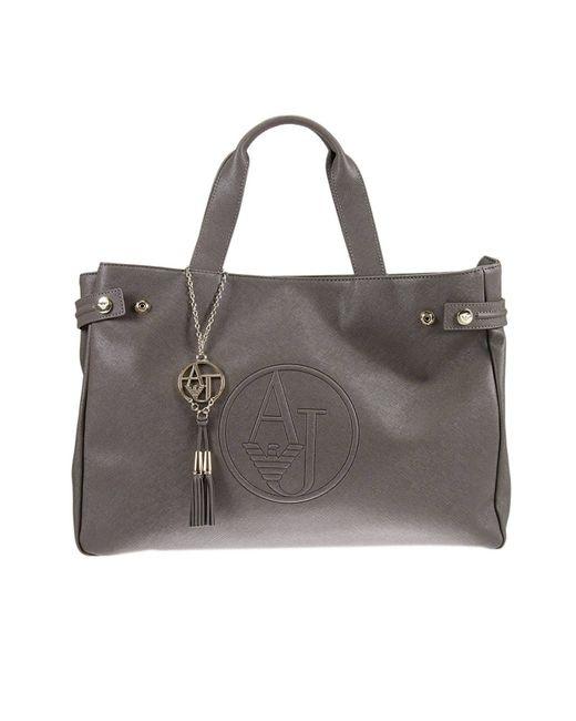 Armani Jeans | Gray Shoulder Bag Handbag Woman | Lyst