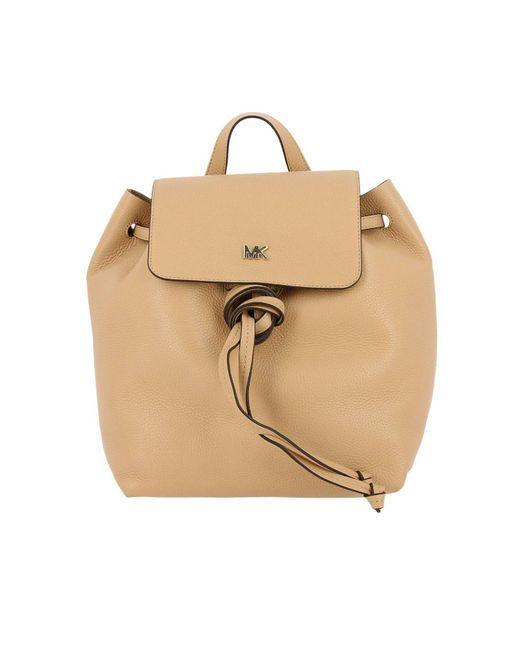 MICHAEL Michael Kors - Natural Backpack Shoulder Bag Women - Lyst