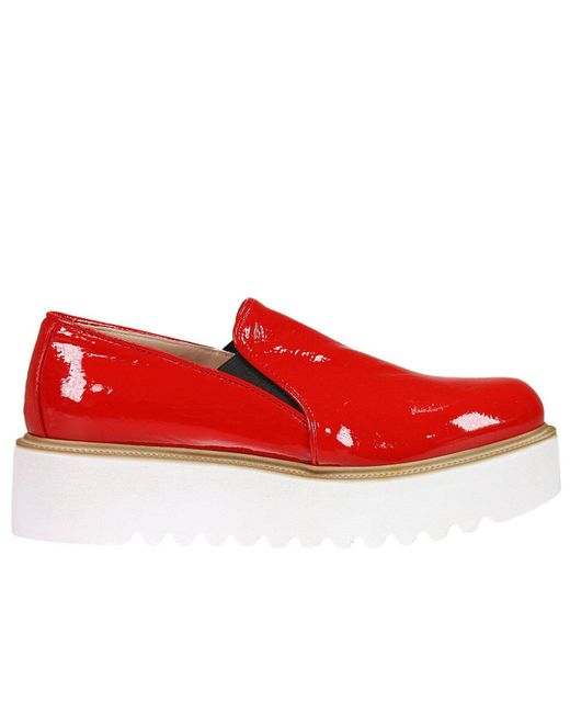 Pinko   Red Sneakers Shoes Women   Lyst