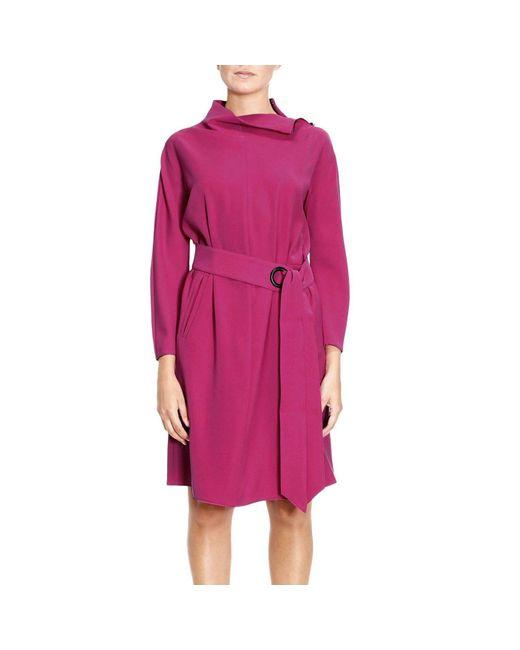 Armani   Pink Dress Women   Lyst