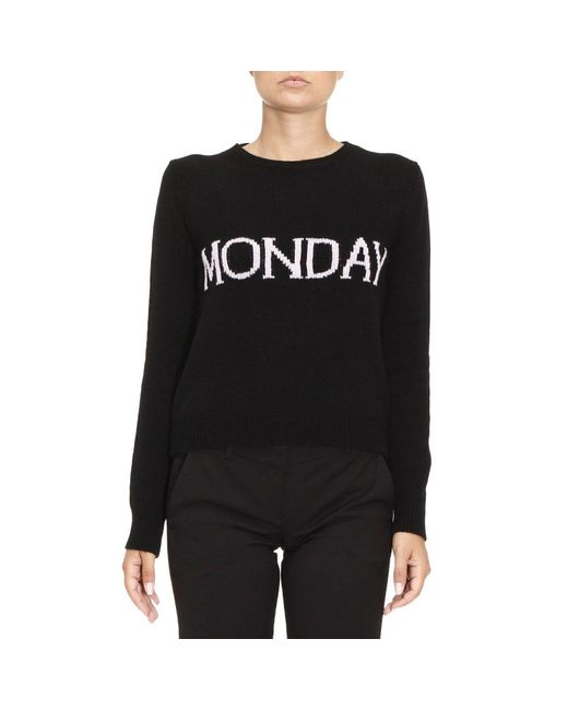 Alberta Ferretti | Black Sweater Women | Lyst