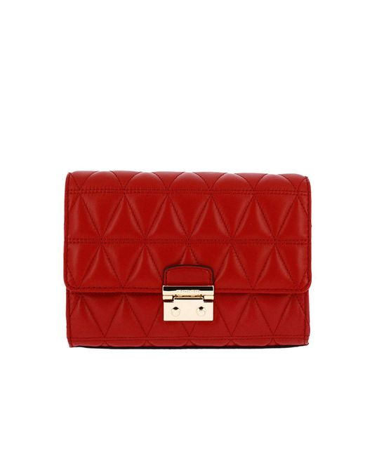 MICHAEL Michael Kors - Red Shoulder Bag Women - Lyst
