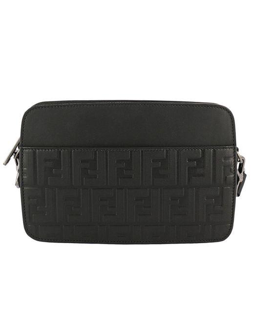 584c414e2be5 Fendi - Black Bags Men for Men - Lyst ...