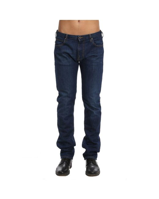 Emporio Armani - Blue Jeans Men for Men - Lyst
