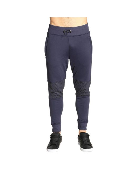 Hydrogen | Blue Pants Men for Men | Lyst
