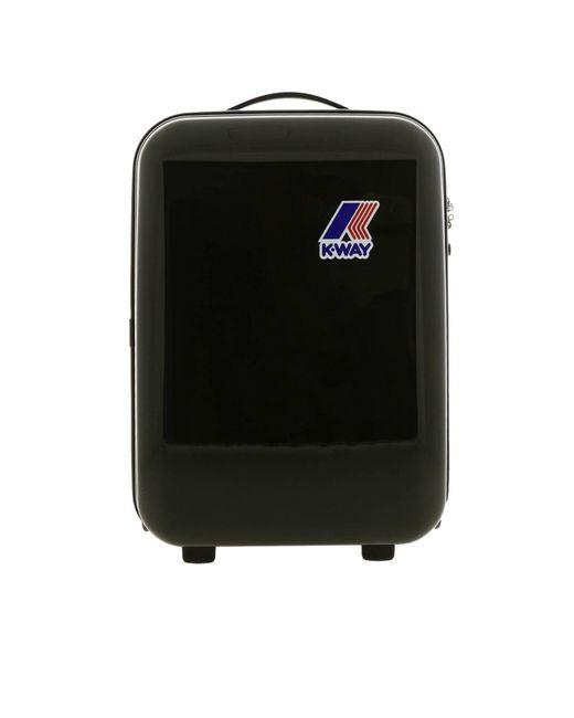K-Way - Black Travel Bag Men for Men - Lyst