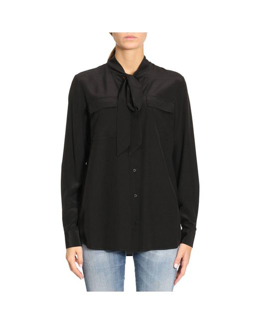 Twin Set - Black Shirt Women - Lyst