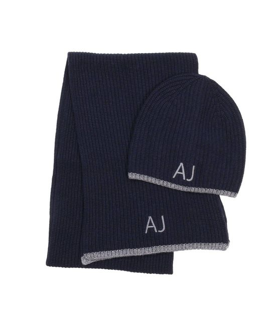 Armani Jeans - Blue Hat Men for Men - Lyst