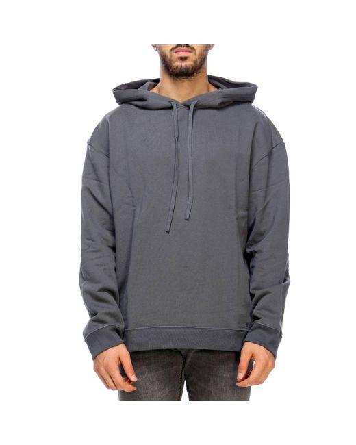 Raf Simons - Gray Sweatshirt Men for Men - Lyst