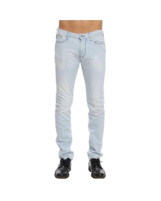 Emporio Armani - Blue Jeans Men for Men - Lyst