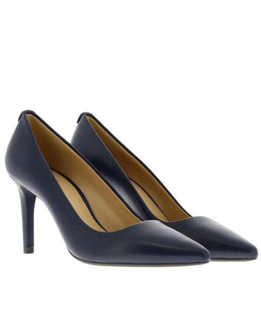 851b4e913864 ... MICHAEL Michael Kors - Blue Pumps Shoes Women - Lyst ...