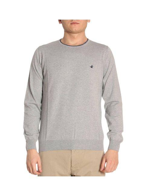Brooksfield - Gray Sweater Men for Men - Lyst