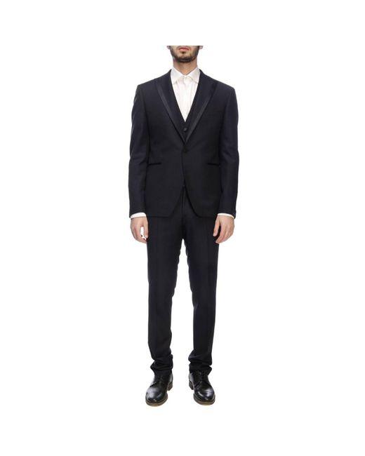 f64dafe0ad21 Tagliatore - Blue Suit Men for Men - Lyst ...