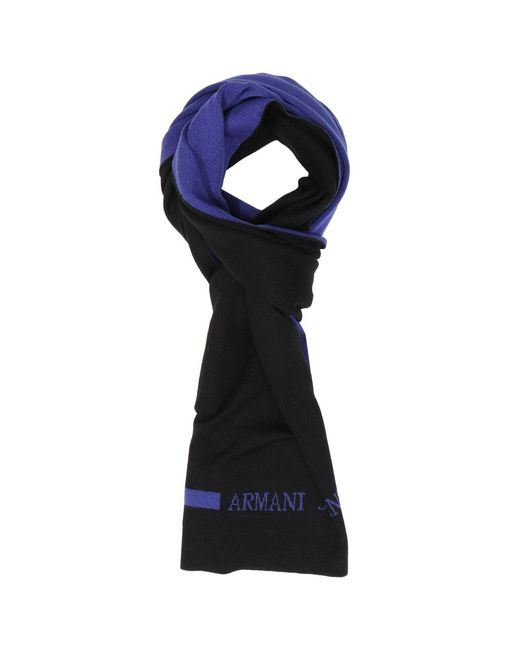 Armani Jeans - Black Scarf Men for Men - Lyst