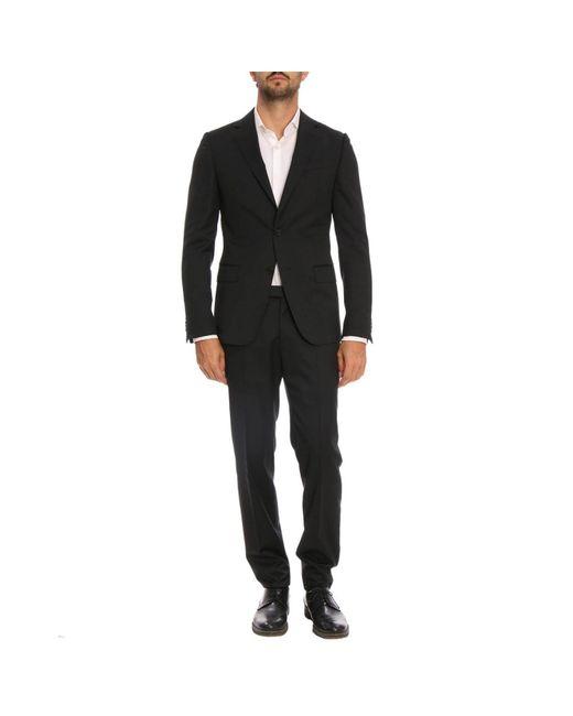 Z Zegna - Black Suit Men for Men - Lyst