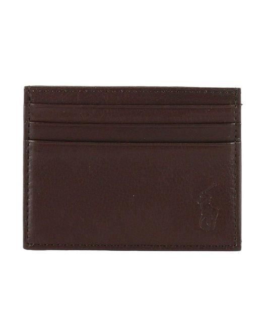 Polo Ralph Lauren - Brown Wallet Man for Men - Lyst