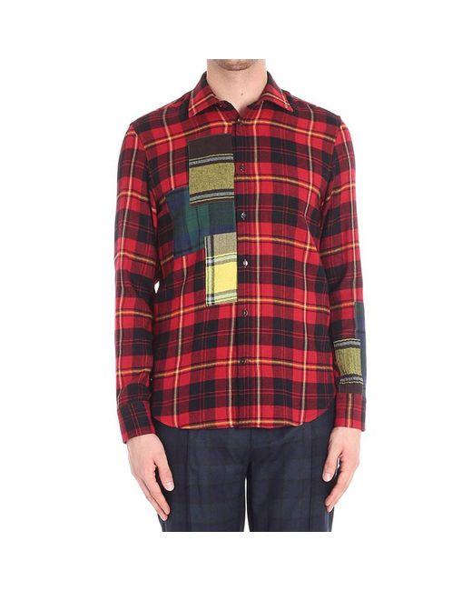 Ermanno Scervino - Red Shirt Men for Men - Lyst
