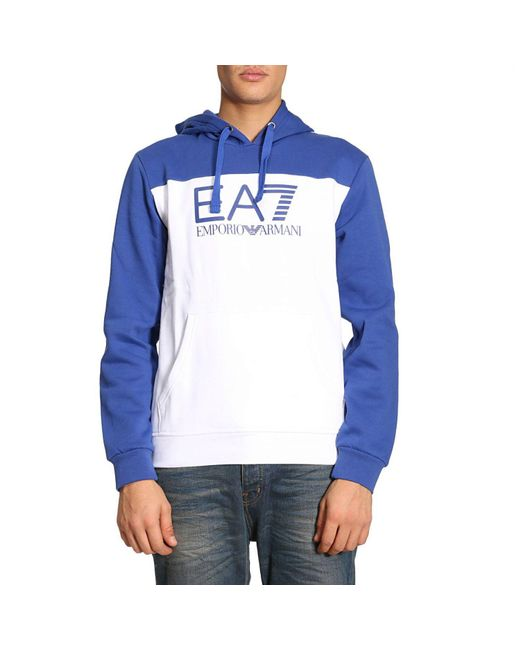 EA7 | White Sweater Men Ea7 for Men | Lyst