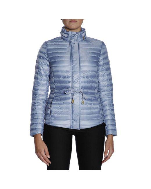 MICHAEL Michael Kors - Blue Jacket Women - Lyst