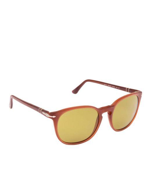 c961312bc8343 Persol - Brown Glasses Eyewear Men for Men - Lyst ...