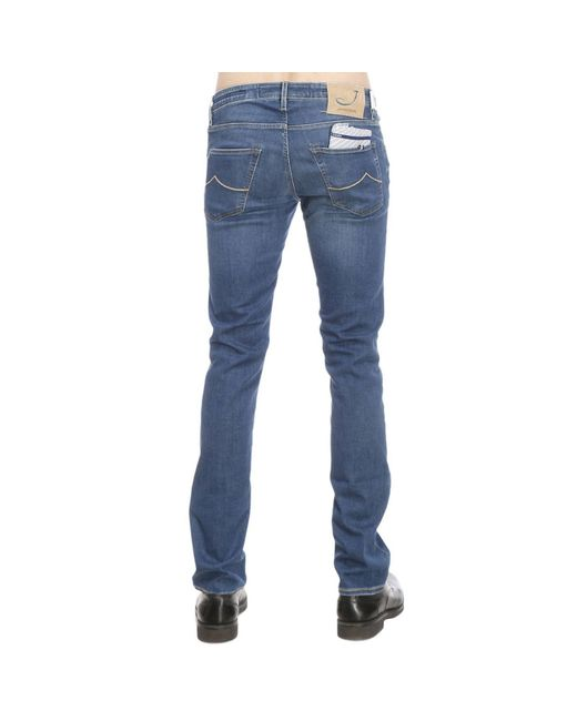 jacob cohen jeans man in blue for men save 31 lyst. Black Bedroom Furniture Sets. Home Design Ideas