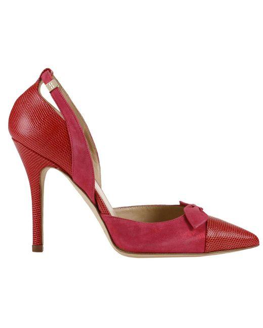 Elisabetta Franchi   Red Pumps Shoes Women   Lyst