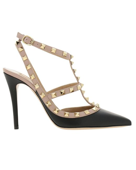 e6e731aaf7f3 Lyst - Valentino Pumps Shoes Women in Black - Save 21%