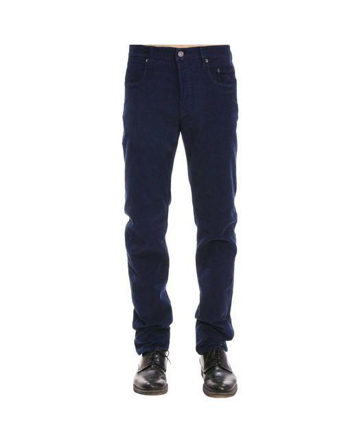 Siviglia - Blue Pants Men for Men - Lyst